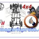 Como construir o seu 4×4 Offroad com chassi em tubo dobrado