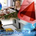 A impressora 3D vai construir maquetes e casas a partir do AutoCAD