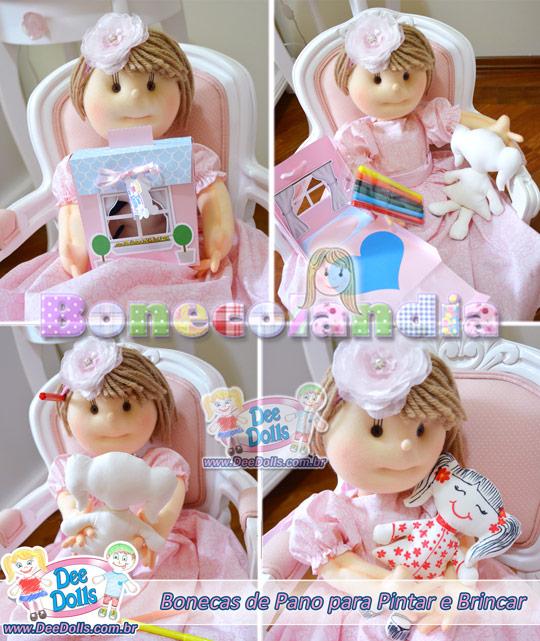 Bonecolandia e Dee Dolls a criação em bonecas de pano