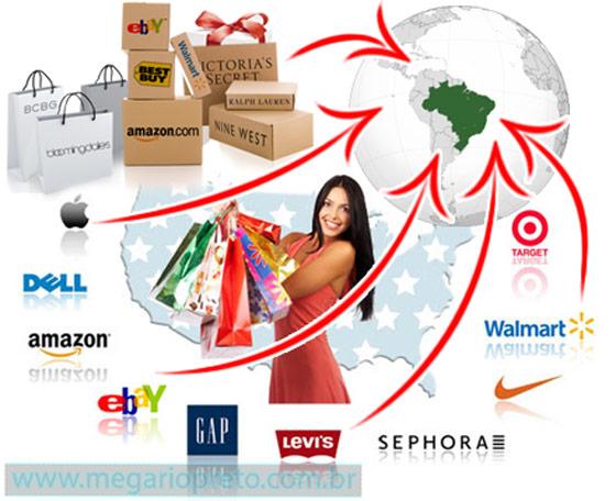 Como comprar nos Estados Unidos pela Internet