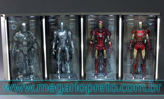 Hot Toys Homem de Ferro figure action