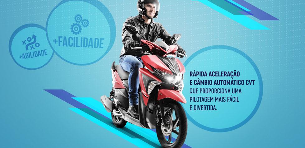 Yamaha Neo 125 Câmbio Automático e Partida Elétrica